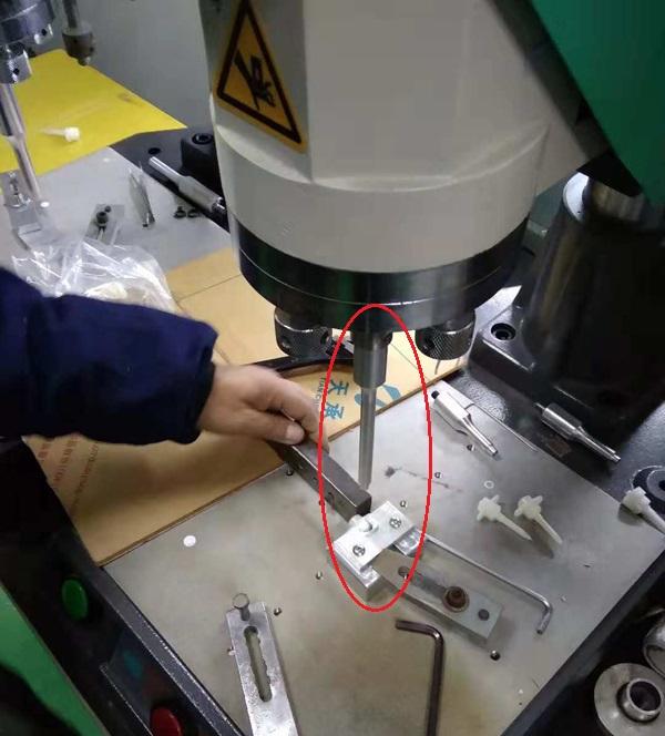 医疗三通输液器透气膜超声波焊接机