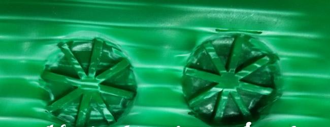 中空板周转箱梅花形超声波焊点